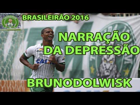 Narração Da Depressão - Coritiba 3x4 Chapecoense - #5 Brasileirão 2016.
