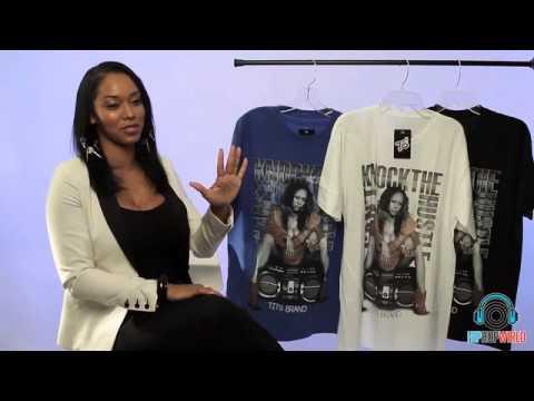 Esther Baxter Talks New T-Shirt Brand, And Being A Former Video Vixen