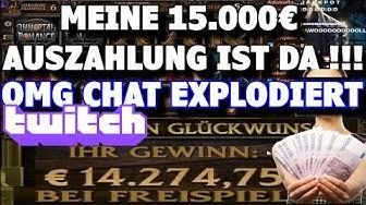 VOLLAUSZAHLUNG 2020 - Mein 14.000€ Record Win Live im Casino Stream mit MaximalEinsatz