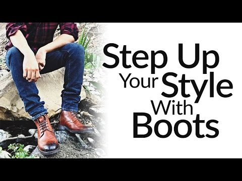 Step-Up Casual Style With Leather Dress Boots | ONE Men's Sh