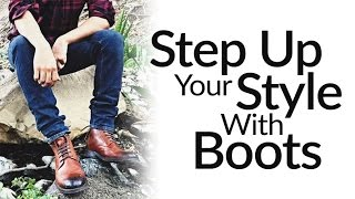 Step-Up Casual Style With Leather Dress Boots | ONE Men