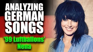 What is '99 Luftballons' by Nena about? 🔥 MEANING & LYRIC BREAKDOWN | LEARN GERMAN
