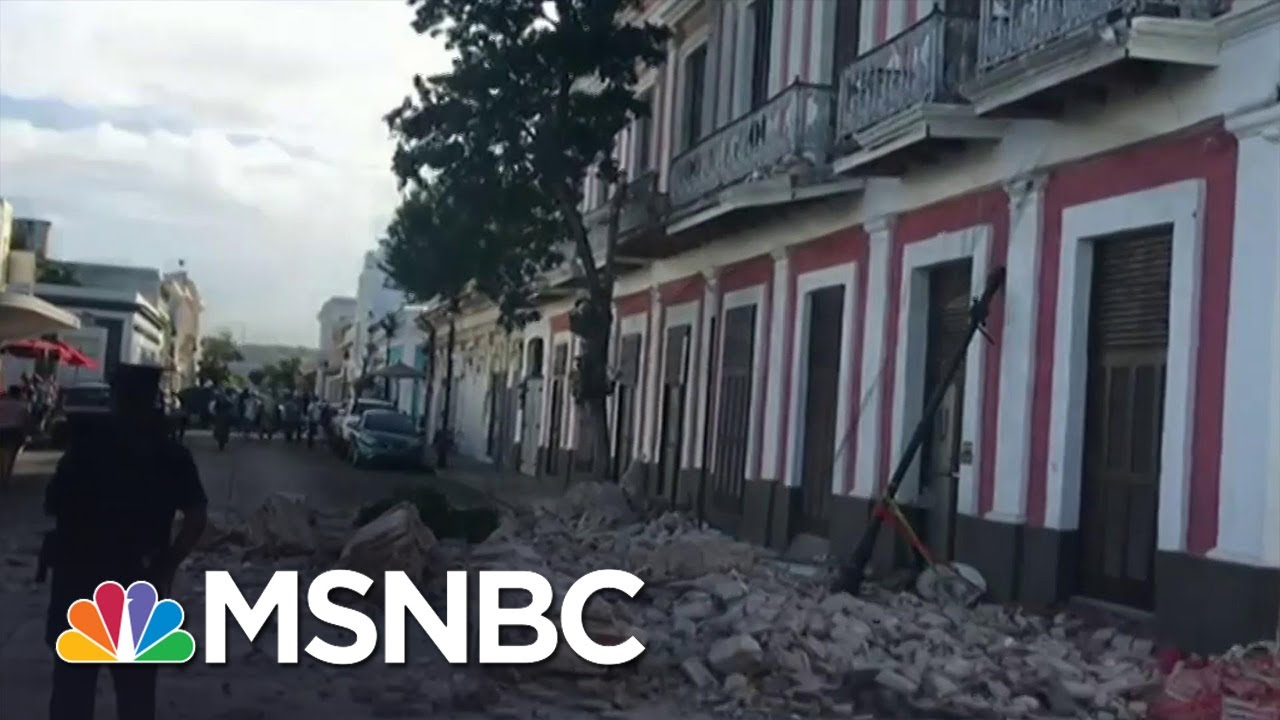 5.4-magnitude earthquake hits near Puerto Rico