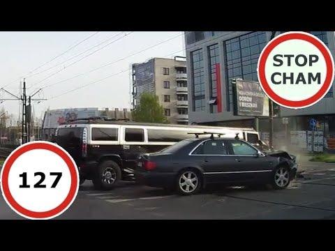 Stop Cham #127 – Niebezpieczne i chamskie sytuacje na drogach
