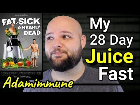 My 28 Day Juice Fast (EXTREME WEIGHT LOSS) What not to do!