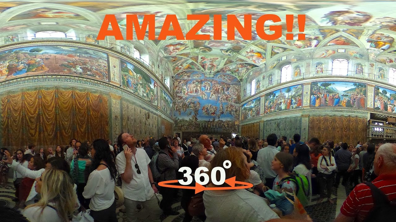 Chapel Sistine Virtual Tour