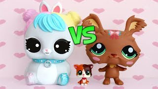GIANT LITTLEST PET SHOP VS GIANT LOL SURPRISE PET || Which One's Better?