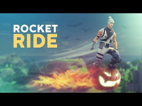 ROCKET RIDE! (Fortnite Battle Royale) thumbnail