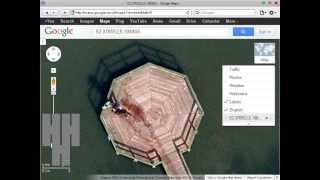 DEAD BODY ON GOOGLE EARTH, Guy Throwing Body In Lake Caught On Google Earth MUST SEE! Free HD Video