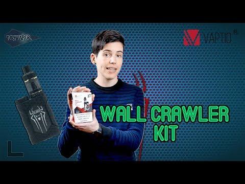 Wall crawler kit / Vaptio / El mod Spiderman / revisiones de vaporizadores personales y cigarrillos electrónicos