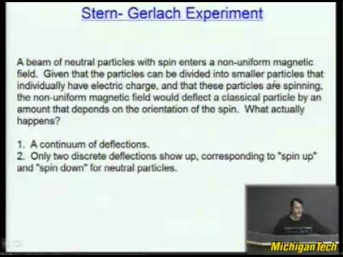 Physics Lecture:- Quantum Tunneling and Spin