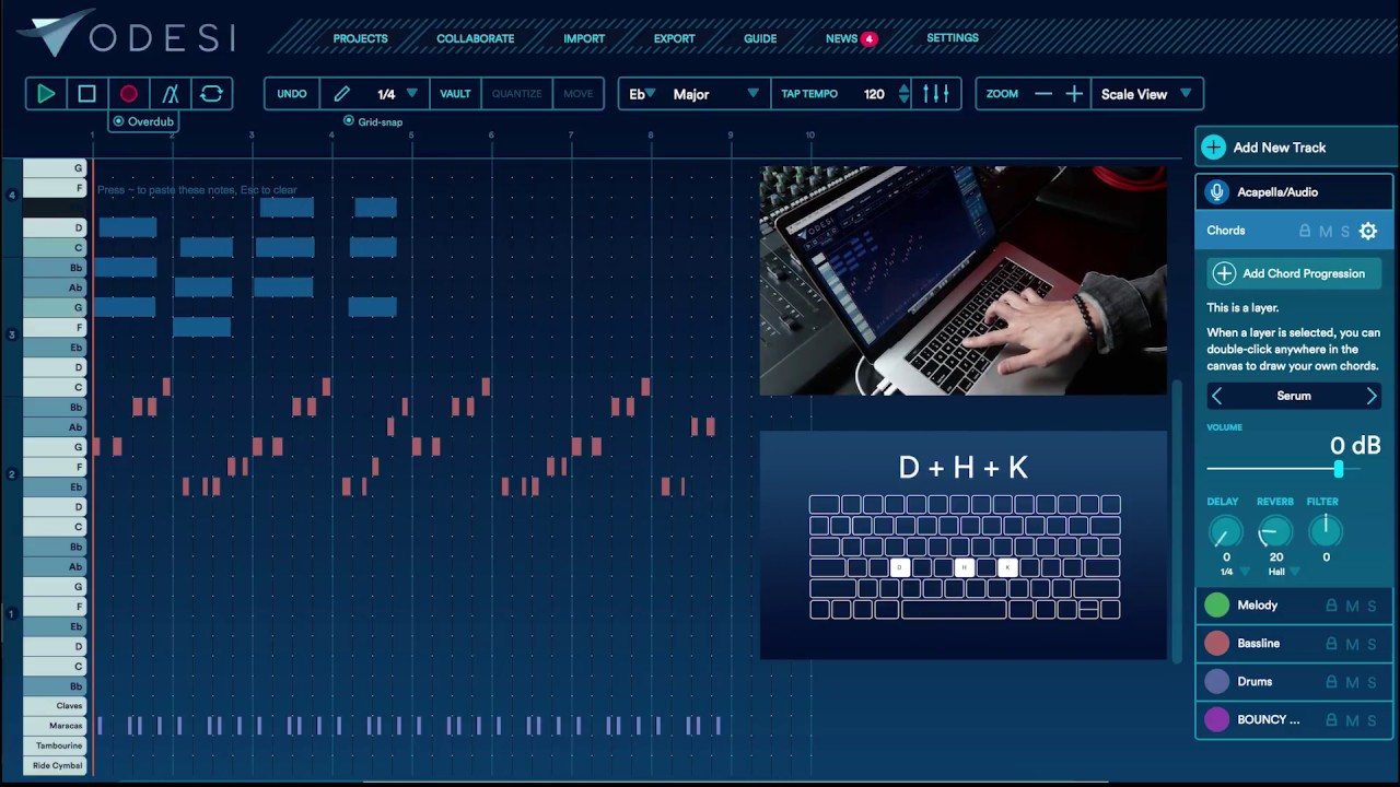 Odesi: New music composition for Ableton Live + Logic + all DAWs