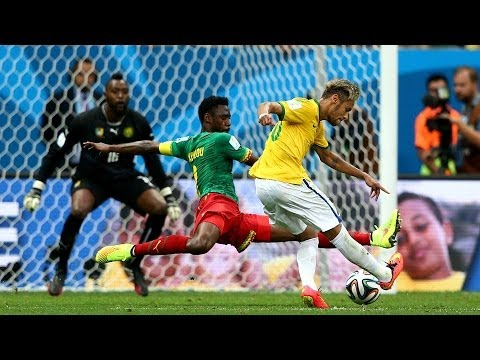 Cameroon 1 - 4 Brazil  : World Cup 2014