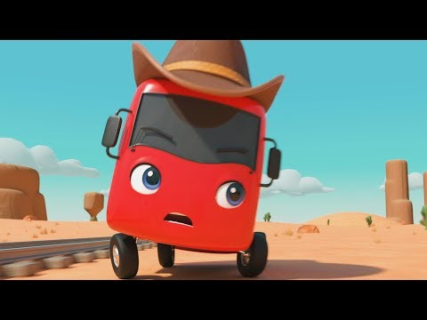 COWBOY Buster! | Little Baby Bus | Kids Cartoons | Children's Stories