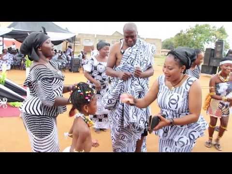 FUNERAL OF OBAAPANIN DORA OWUSUWAA @ EFFIDUASE GHANA BY OFORIONE TV  PART 2