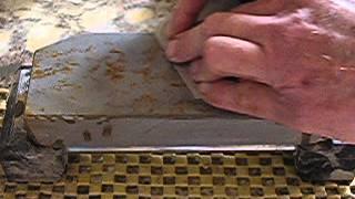 Testing Nakayama Suita #117 with Japanese kanna blade from TheJapanBlade.com