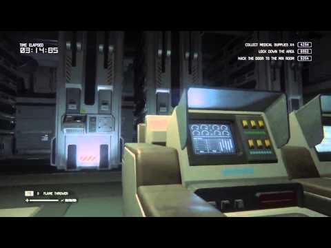 Alien Isolation Survivor Mode Run on DLC |