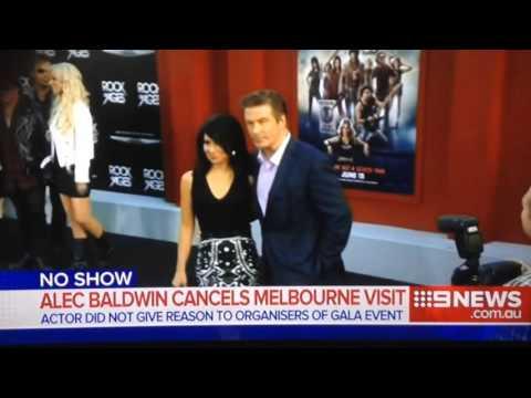 ALEC BALDWIN CANCELS MELBOURNE VISIT!