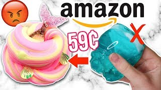 $1 AMAZON SLIME REVIEW! Is It Worth It?!