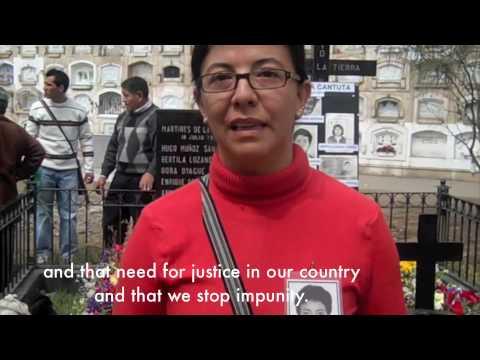 La Cantuta Massacre Remembrance
