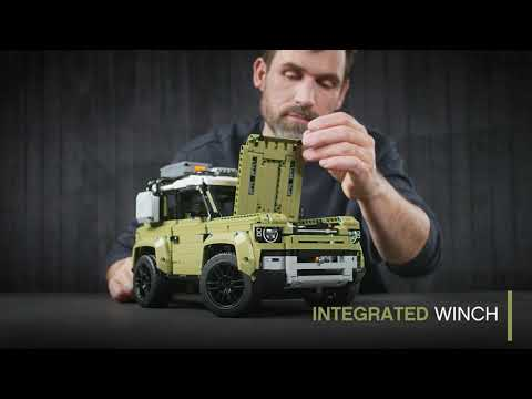 Land Rover - The LEGO Technic DEFENDER