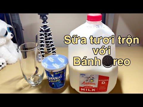 [Vlog 31] Uống thử bánh Oreo với sữa tươi – Sữa tươi Oreo mới lạ sẽ có vị như thế nào?