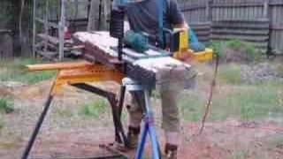 Diy Alaskan Chainsaw Mill