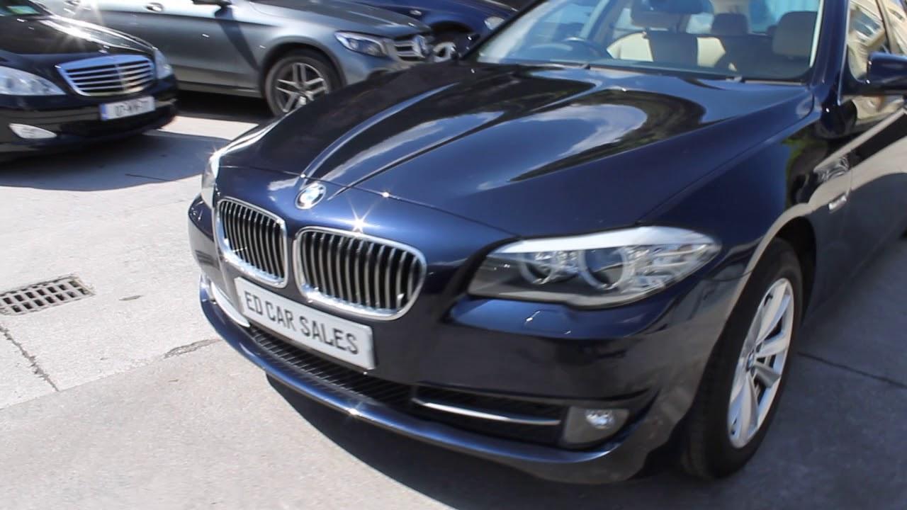 Eds Car Sales Fermoy Bmw F11 Imperial Blue Brilliant Effect Youtube