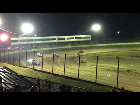 Jackson Motor Speedway 9/30/17 Open Wheel Modified Heat Race