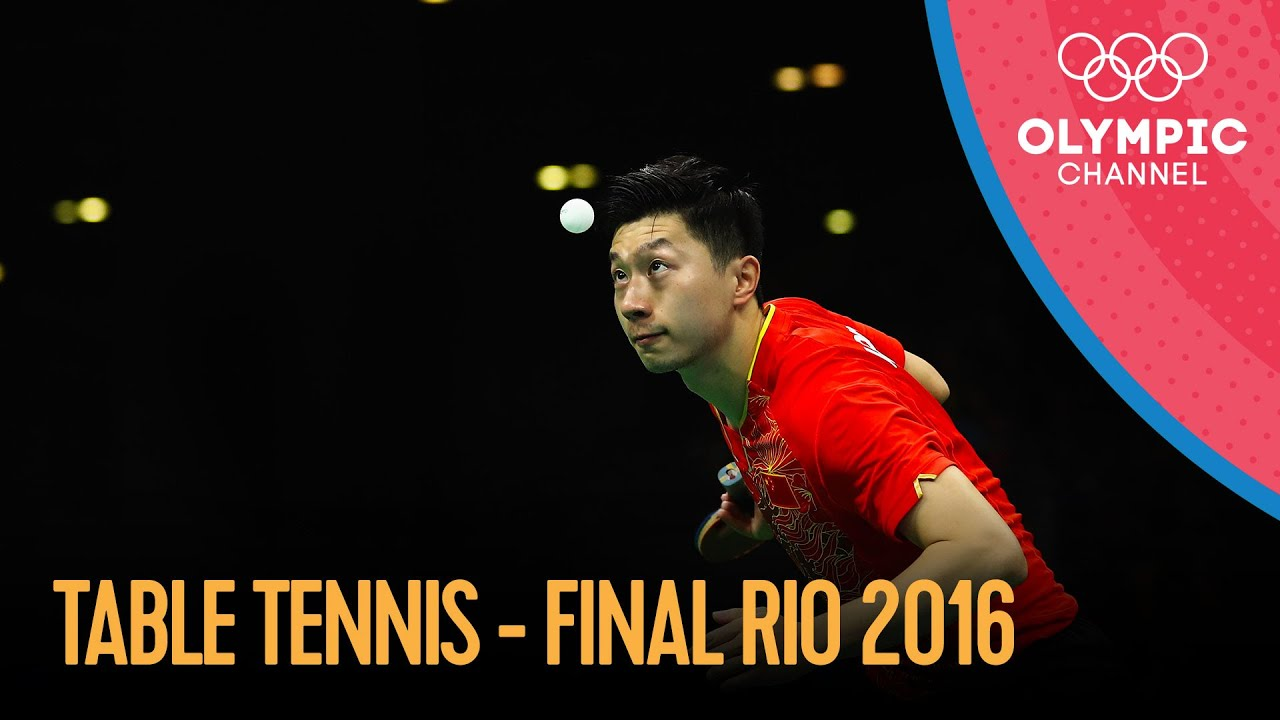 Download Men's Singles Table Tennis Final - Full Match | Rio 2016 Replays