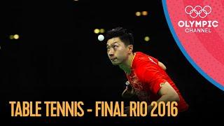 Men's Singles Table Tennis Final - Full Match   Rio 2016 Replays