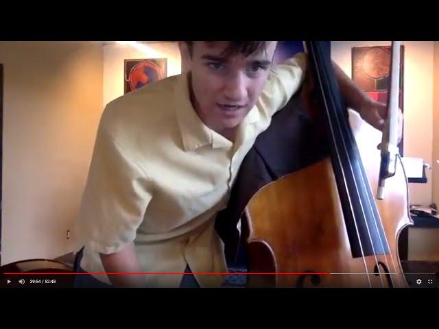 The Santa Fe Symphony | Facebook LIVES with double bassist Toby Vigneau
