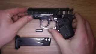 vuclip ATAK Arms Zoraki 914 9mm P.A.K. in Zeitlupe Blank Gun in slowmotion
