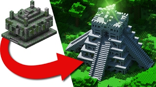 How to Transform A Jungle Temple - Easy Build!(How to Transform A Jungle Temple - Easy Build! Hope you guys extract some good tips & ideas from this video, if you built any jungle temples you may think I'd ..., 2017-02-08T00:46:22.000Z)