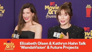 Elizabeth Olsen & Kathryn Hahn Talk 'WandaVision' & Future Projects | 2021 MTV Movie & TV Awards