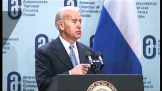 REMARKS BY VICE PRESIDENT JOSEPH R. BIDEN JR. AT MOSCOW STATE UNIVERSITY - part 1 of 3