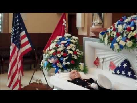 Oldest Marine Alfred DeSerio | Burial 5-10-2012
