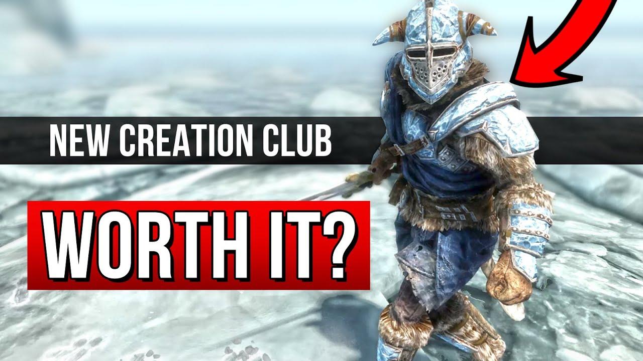 Skyrim NEW Creation Club Content REVIEW!