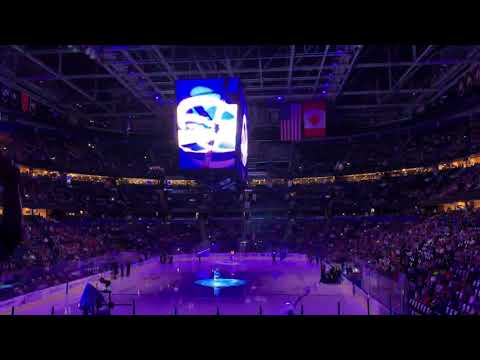 Tampa Bay Lightning Opening Pregame 11/6/18 vs Edmonton Oilers