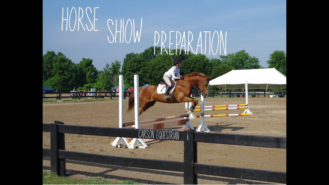 How to Prepare for a Horse Show