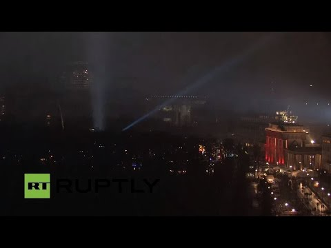 LIVE: New Year's Eve celebrations in Berlin