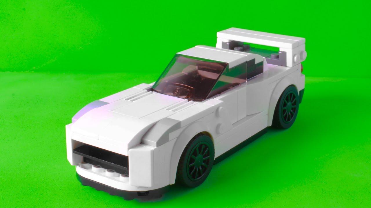 My Lego Nissan Skyline GTR R35 2017 as a Speed Champions ...