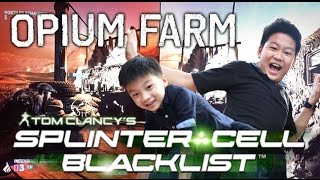 รีวิวเกม Splinter Cell Black List บุกด่าน OPIUM FARM
