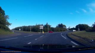 Roundabout near Glenrothes....another driver chancing their luck.