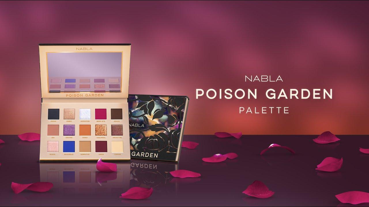 Znalezione obrazy dla zapytania Nabla New Poison Garden Palette