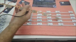 BARRA DE LED TOSHIBA 48L2400 40L2400 DL3244 NELETRONICASHOP