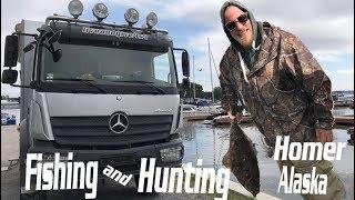 Boat trip for Halibut fishing | Homer Alaska | Liveandgive4x4