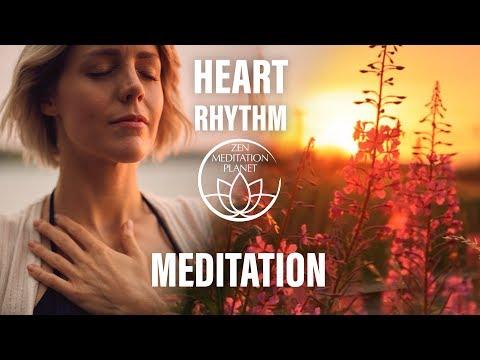 Heart Rhythm Meditation - Conscious Breathing Exercises Music