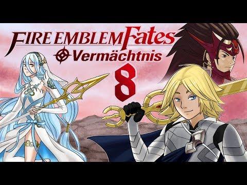 Let's Play Fire Emblem Fates Vermächtnis [German][#8] - Vom Häuptling geprüft werden!
