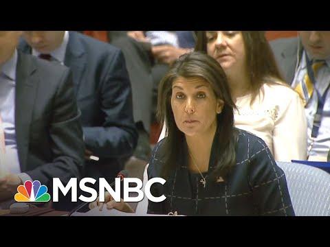 Amb. Nikki Haley: 'I Don't Get Confused' On Russia Sanctions | Hardball | MSNBC